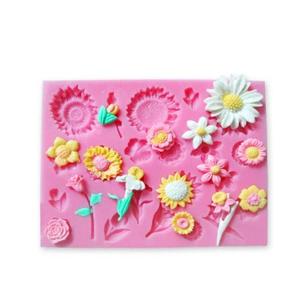 Flower Silicone Mold - 22 Designs