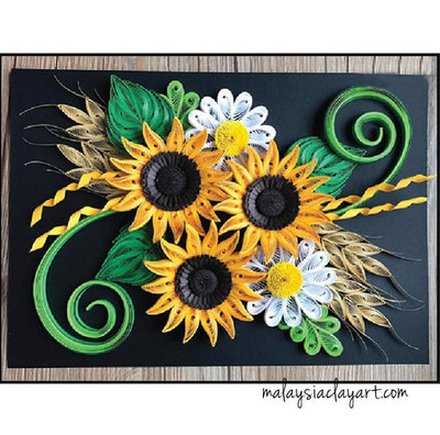 DIY Paper Quilling Craft Kit Project Pack