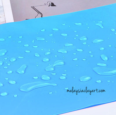 Square Silicone Sheet - Reusable For Mixing