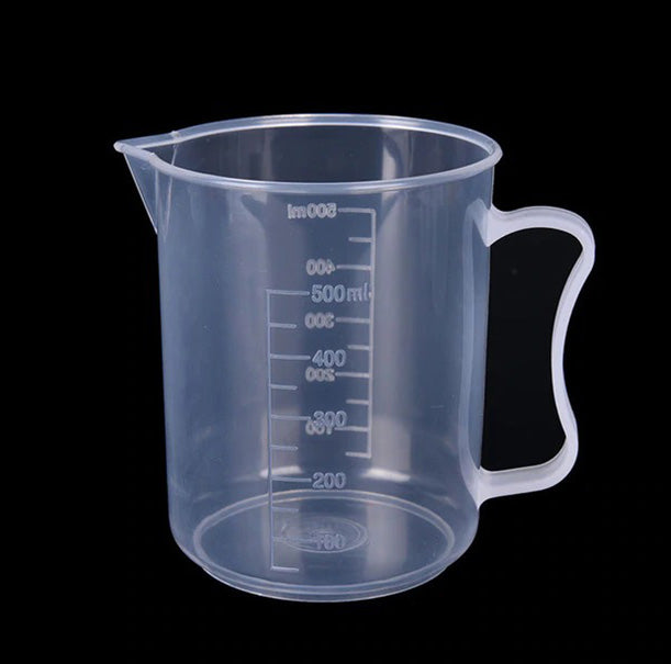 500ml PP Cup Reusable For Mixing (1pcs)