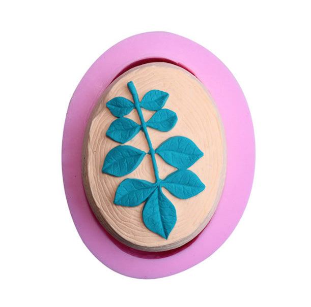 3D Leaves Soap Silicone Mold