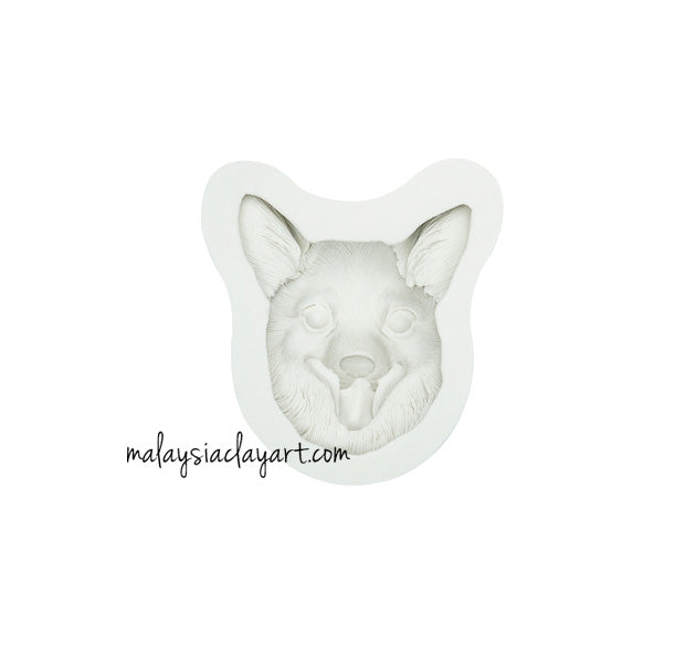 Corgi Puppy Dog Silicone Mold