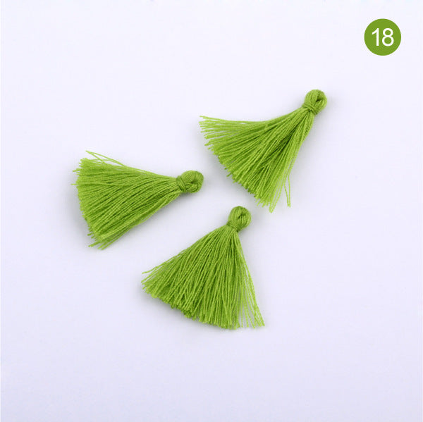 Cotton tassels 30mm for Earrings Pendant Jewelry