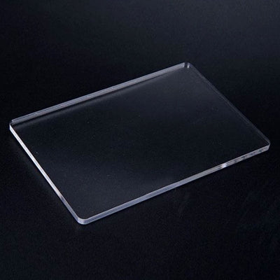1 x Transparent Acrylic Sheet Clay | Coaster