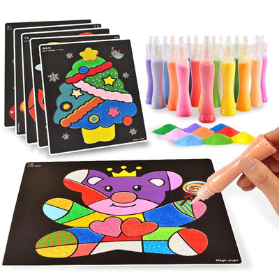 Sand art diy craft kit