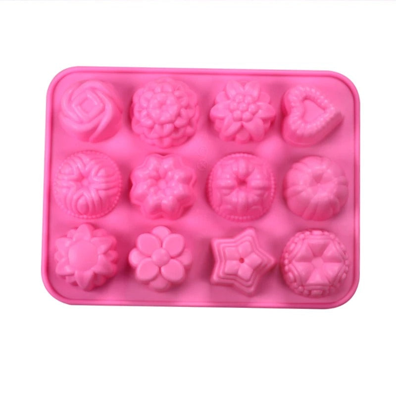 Jelly Cupcake Chocolate Soap Silicone Mold