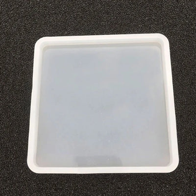 Square Coaster High Gloss Silicone Silicone Mold