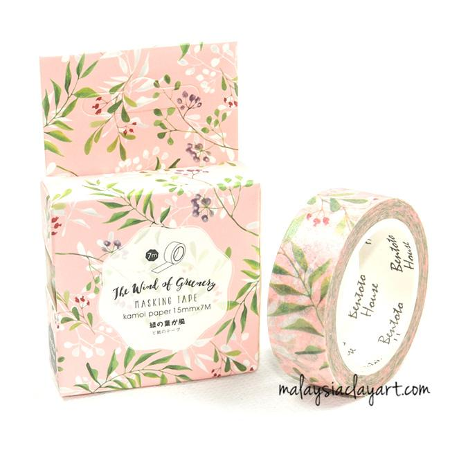 Floral Japanese style masking tape