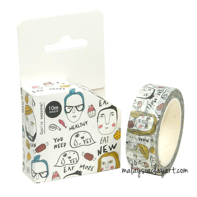 Expression Japanese style masking tape