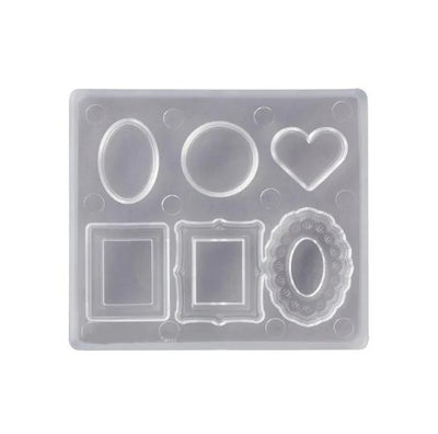 Pendant Silicone Mold Plate & Frame