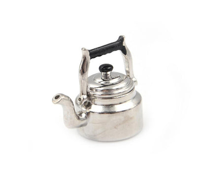 1 x Miniature tea kettle Dollhouse