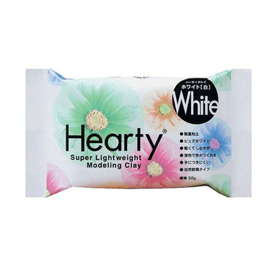 Padico Japan Hearty White-S Modeling Clay (50g)