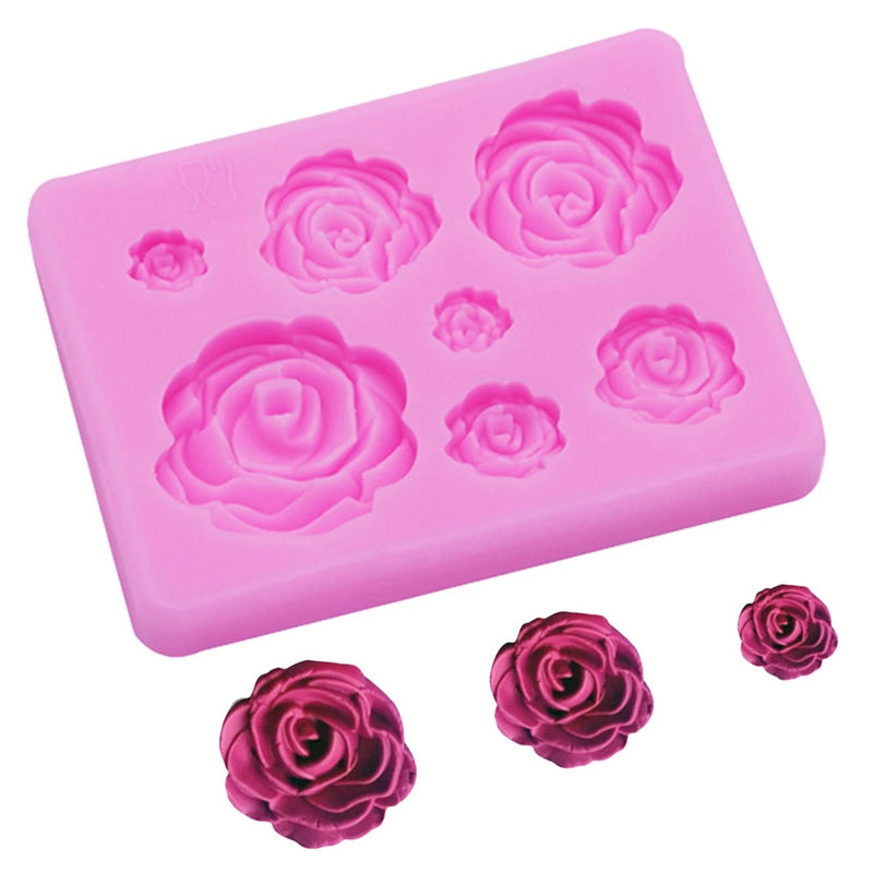 7 cavity Flower Silicone mold