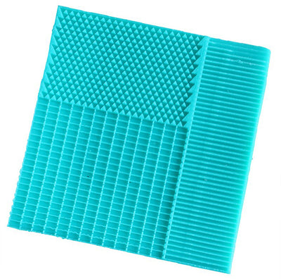 Embosser Texture Stripe Lace Mat Mermaid Fish Scale Silicone Mold