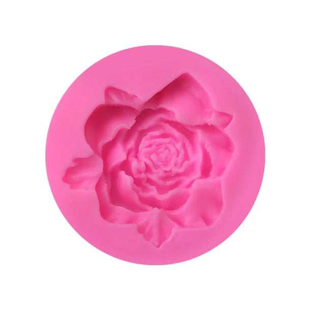 1 Cavity Rose Flower Silicone Mold