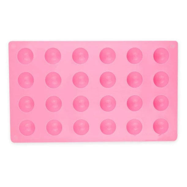 Semi Sphere Silicone Mold - 24 Cavity x 28mm (AB Resin)