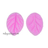 Basic Leaf Veiner Silicone Mould 2 Pcs