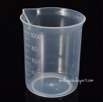 100ml PP Cup Reusable For Mixing (1pcs)