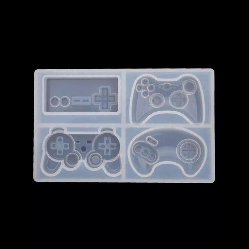 Gaming Joystick 4 cavity Silicone Mold