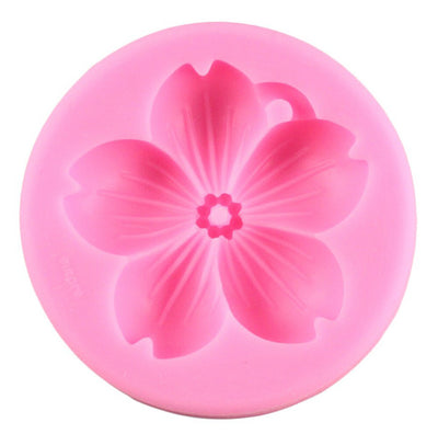 Sakura Flower Shaped Silicone Mold - 1 Cavity