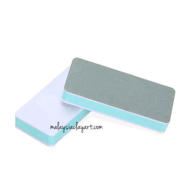 1 x AB Resin Polishing Stick File Block Buffer