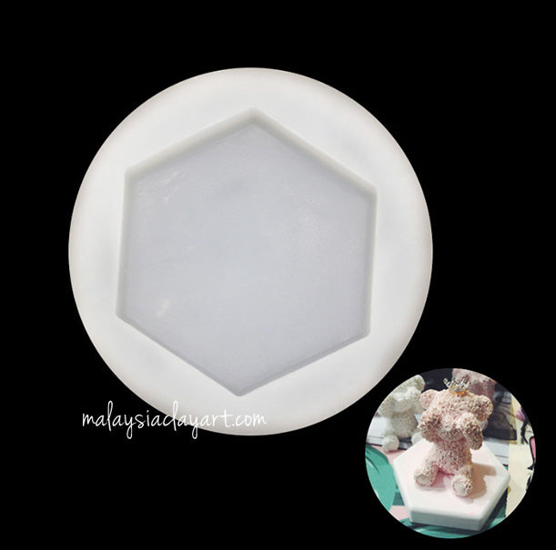 Hexagon Base Silicone Mold