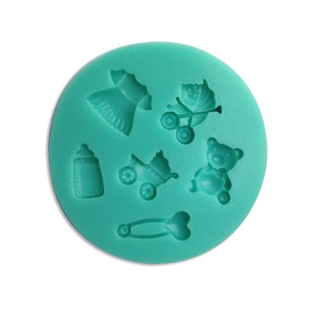 Baby Silicone Mold - 6 designs