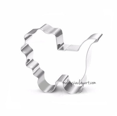 Baby Trolley Shaped Stainless Steel Frame Cutter