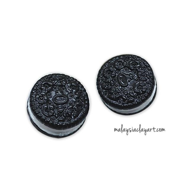2 x Oreo Chocolate Biscuits Decoden Charm | Cute Cabochons