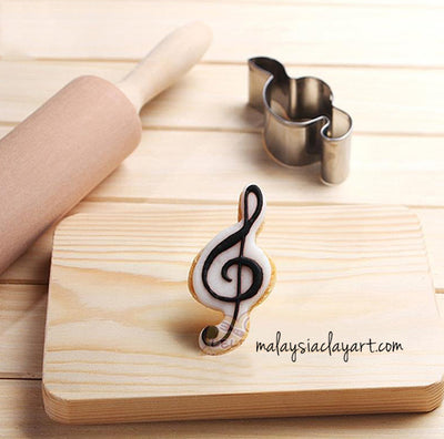 Music Note Stainless Steel Frame Cutter