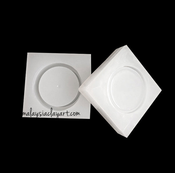 Round Small Container Silicone Mold