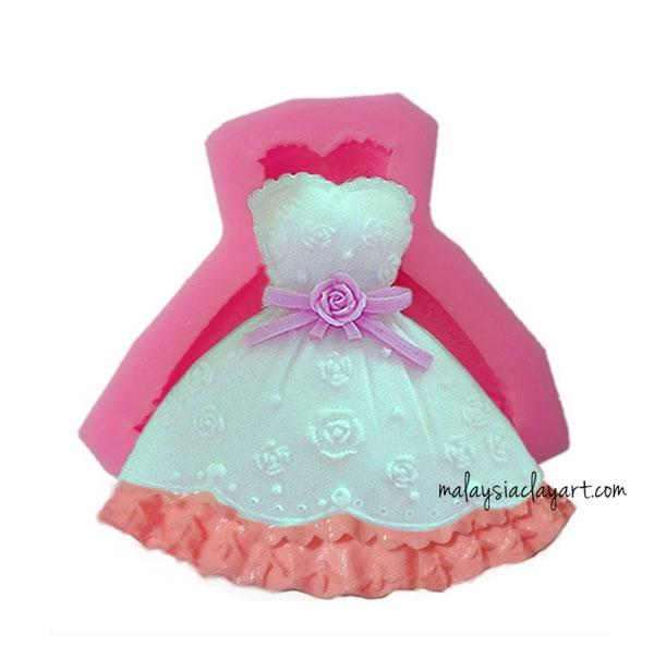 Princess Dress Silicone Mold
