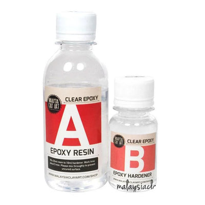 Clear Epoxy Resin | AB Resin Liquid 200g  Table Top(150g + 50g)