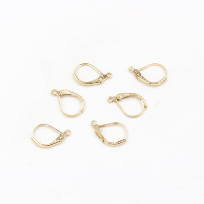 10 x French Leverback Earring hook