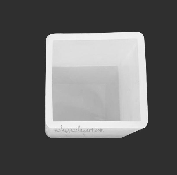 65mm Big Square High Gloss Silicone Mold