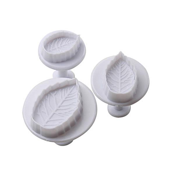 Leaf Plunger Cutter - Set of 3