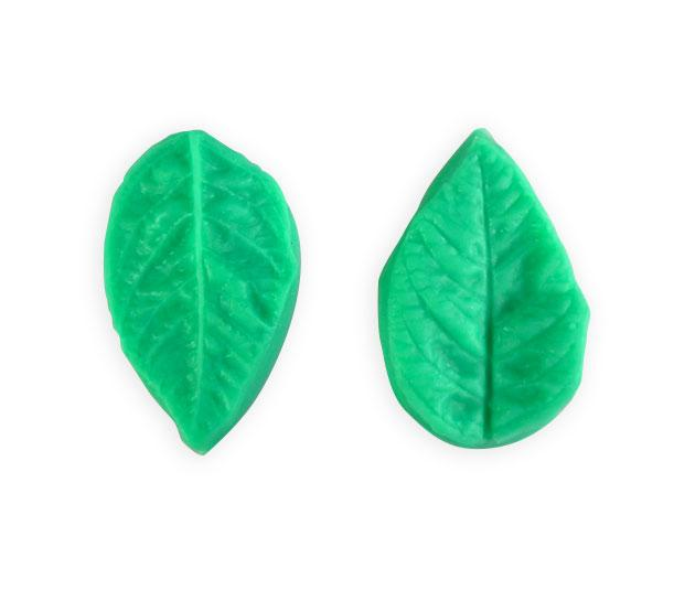 Small Leaf Viener Silicone mold - 2 pcs