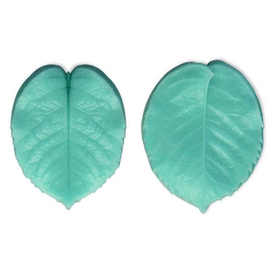 Big Leaf Silicone mold - 2 pcs