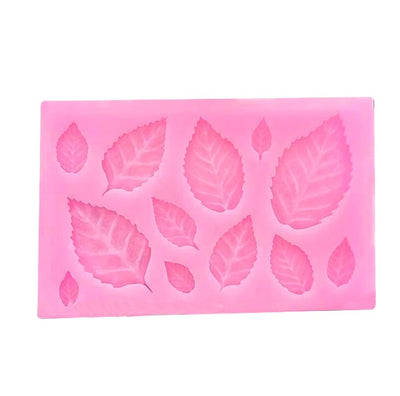 Various Size Leaf Silicone Mold
