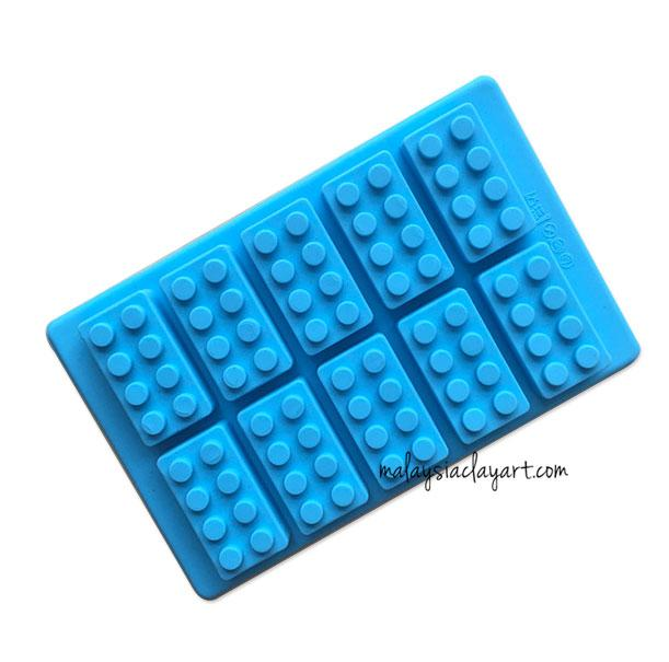 Lego Silicone Mold (10 Cavity) | Soap | Resin