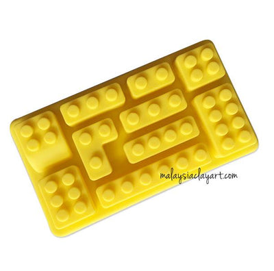Lego Various Bricks Silicone Mold | Soap | Resin