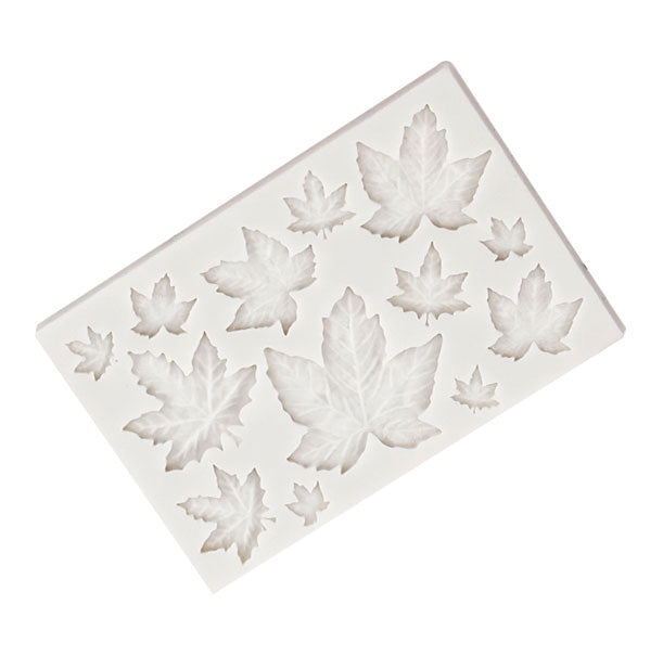 Maple Leaf Silicone Mold Various Sizes