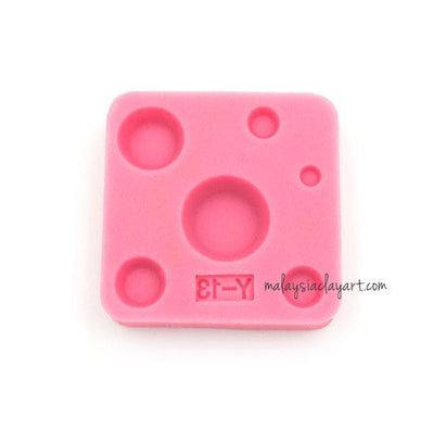 Miniature Small Round Cup Bowl Shape Silicone Mold