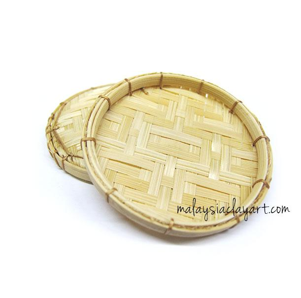 1 x Bamboo Rattan Food Tray