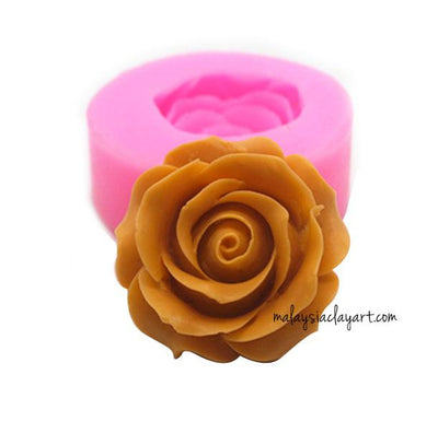 Rose Silicone Mold | Soap