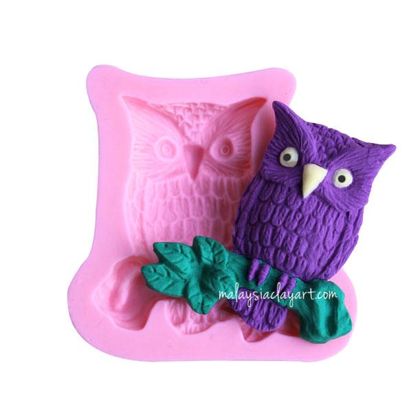 Owl Shaped Silicone Mold