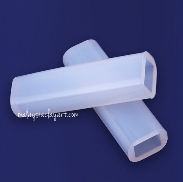 Rectangular Long Pendant High Gloss Silicone Mold