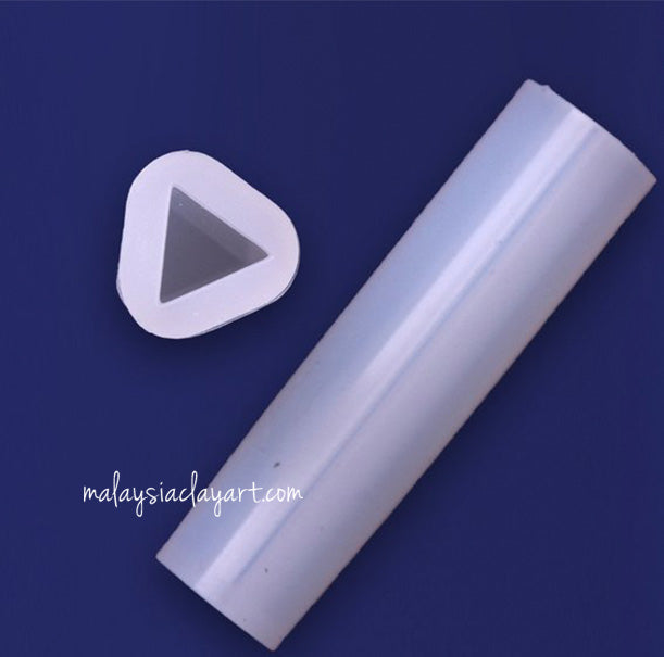 Triangle Long Pendant High Gloss Silicone Mold
