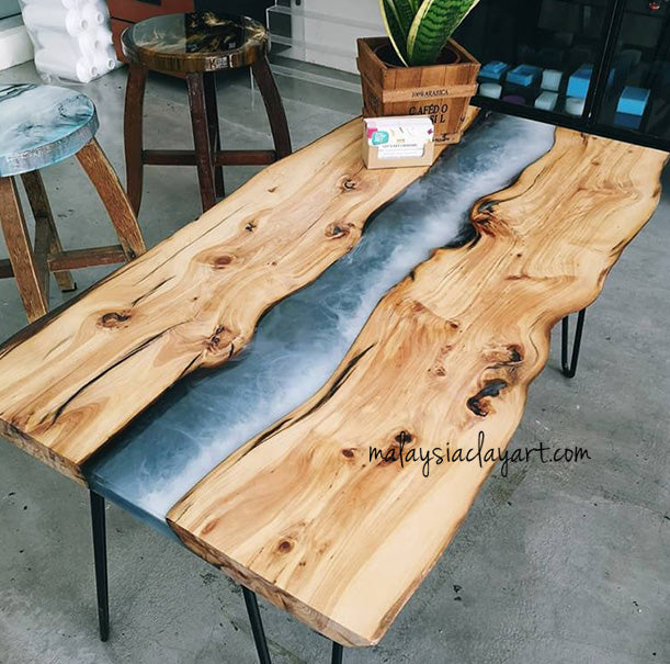 Epoxy River Coffee table Workshop