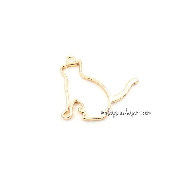 1 x DIY Cat Shape Setting Design Frame